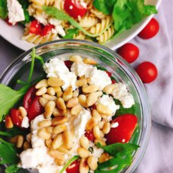 Italienischer Nudelsalat - fertig in 15 Minuten