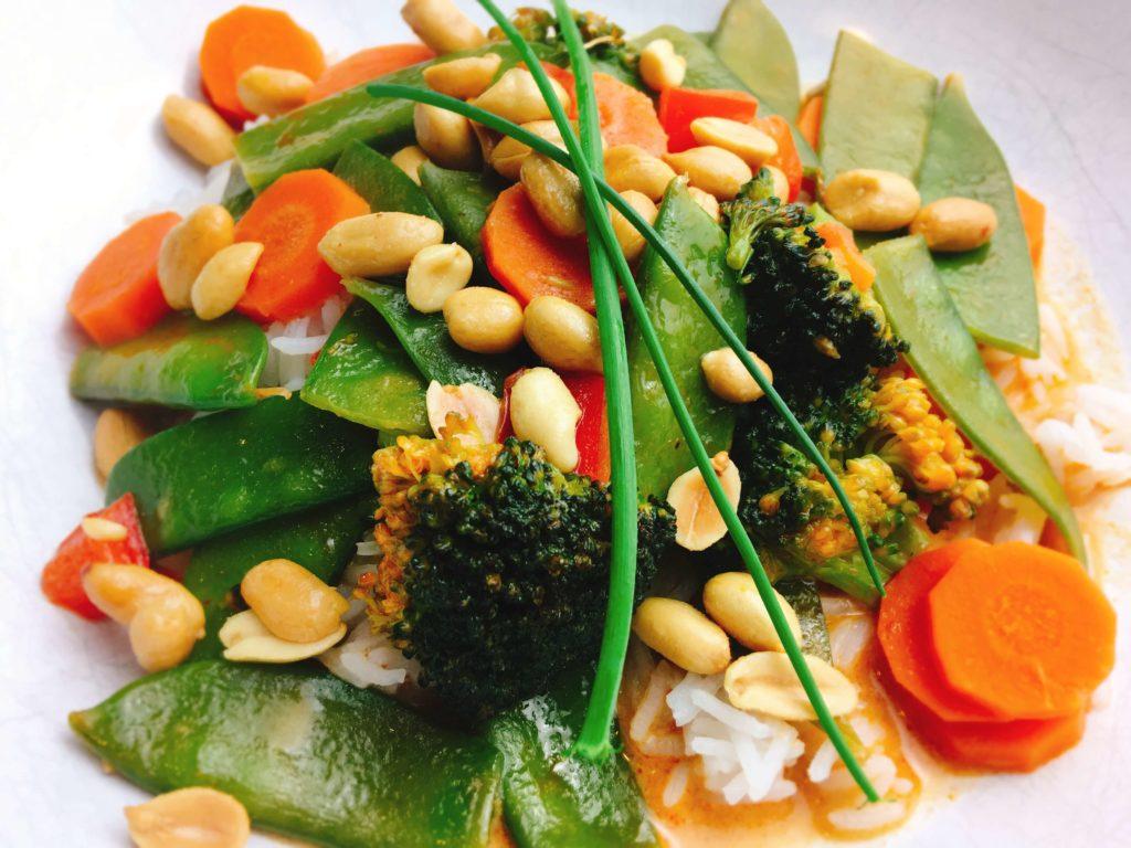 rotes Thai-Curry