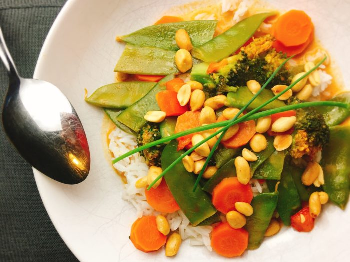 Rezept für rotes Thai Curry