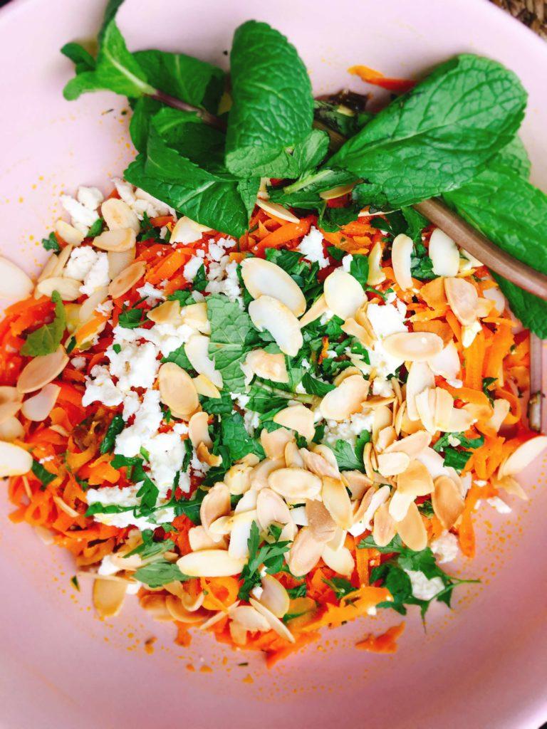 Rezept für orientalischen Karottensalat